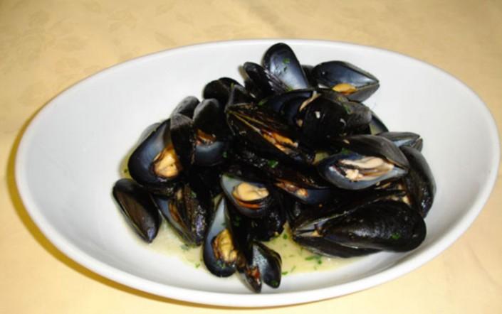 cozze alla marinara menu trattoria grigna lecco