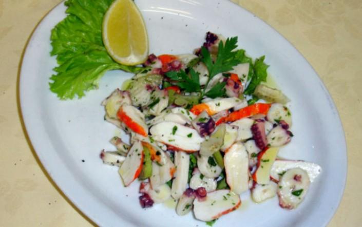 insalata di mare menu trattoria grigna lecco