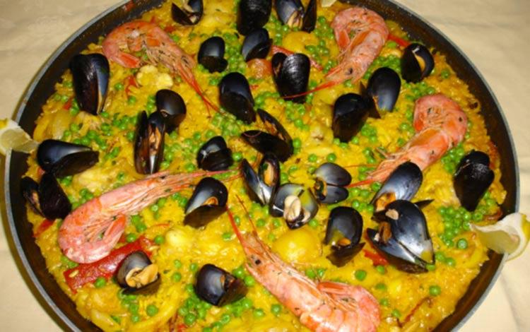 paella menu trattoria grigna lecco