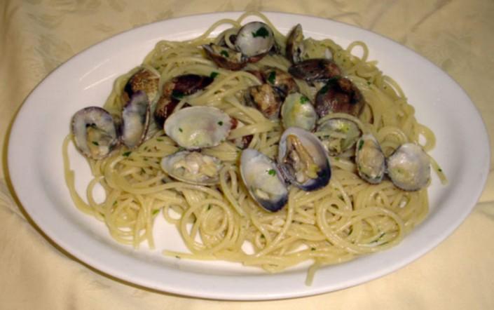 spaghetti vongole menu trattoria grigna lecco